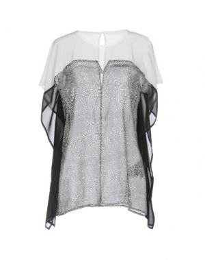 Блузка ANNARITA N. Цвет: черный