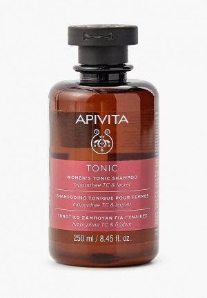 Шампунь Apivita Тонизирующий, против выпадения волос, 250 мл. Цвет: прозрачный