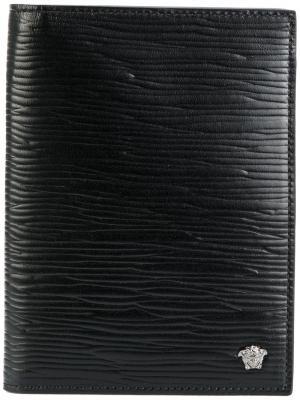 Medusa breast cardholder Versace. Цвет: чёрный