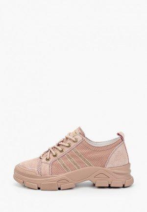 Ботинки Berkonty. Цвет: розовый