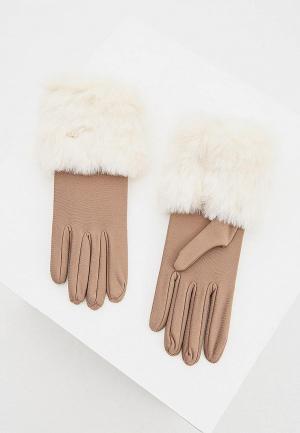 Перчатки Liu Jo. Цвет: бежевый