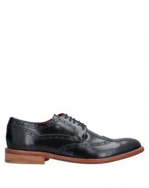 Обувь на шнурках BASE London. Цвет: черный