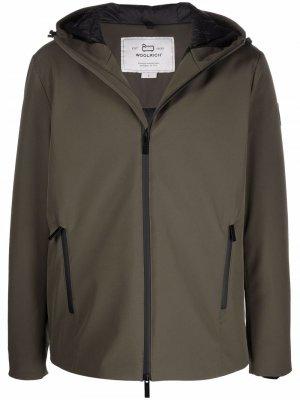 Куртка Pacific Soft Woolrich. Цвет: зеленый