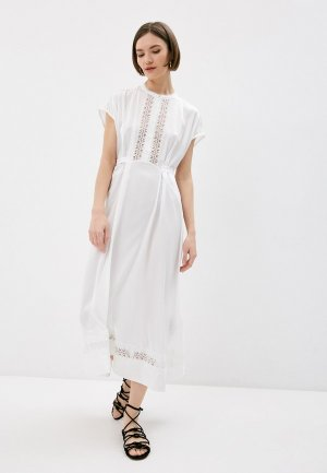 Платье High. Цвет: белый