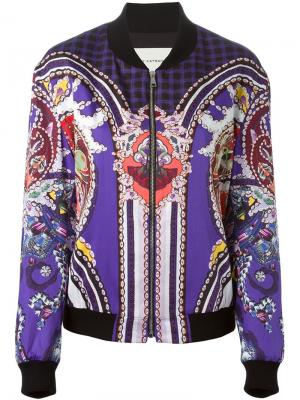 Куртка-бомбер Vice Mary Katrantzou. Цвет: многоцветный