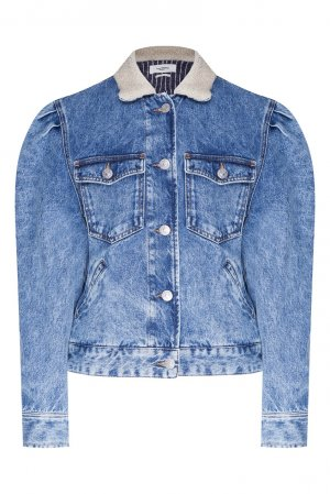 Джинсовая куртка Nolinea Isabel Marant Etoile. Цвет: голубой