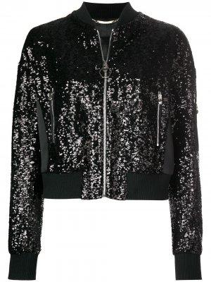 Куртка-бомбер Youre Always On My Mind Philipp Plein. Цвет: черный