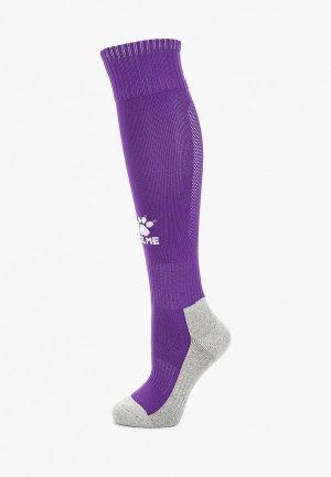 Гетры Kelme Football Length Socks. Цвет: фиолетовый