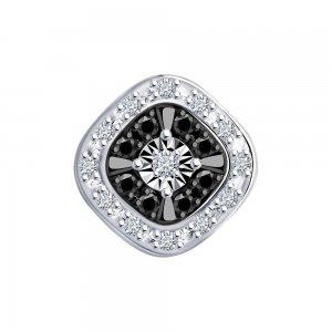 Подвеска из белого золота с бриллиантами SOKOLOV Diamonds