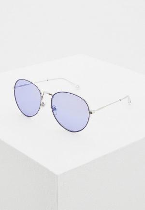 Очки солнцезащитные Givenchy GI007DWAYEH2. Цвет: серебряный