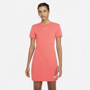 Платье с коротким рукавом Sportswear Icon Clash - Оранжевый Nike