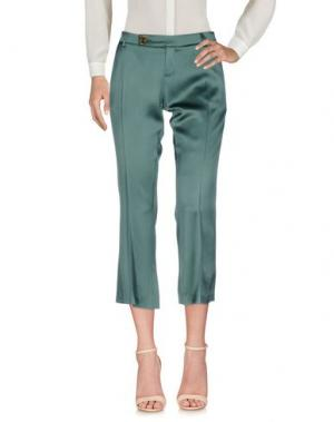 Повседневные брюки ALYSI. Цвет: темно-зеленый