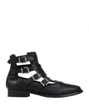 Полусапоги и высокие ботинки BRONX. Цвет: черный