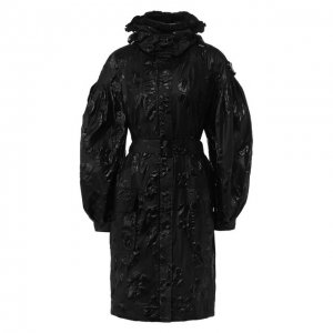 Пальто 4 Moncler Simone Rocha Genius. Цвет: чёрный