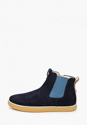 Ботинки Ecco CREPETRAY. Цвет: синий
