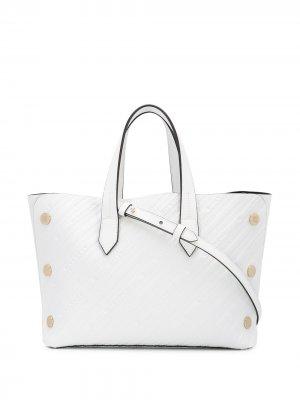 Маленькая сумка-тоут Bond Givenchy. Цвет: белый