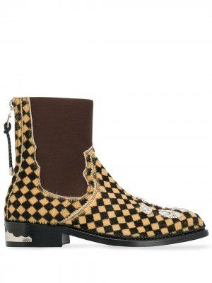 Ботинки челси Toga Pulla. Цвет: коричневый