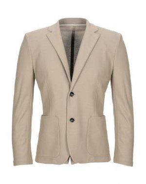 Пиджак PAOLO PECORA. Цвет: бежевый