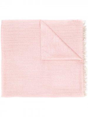 Шарф тонкой вязки Begg & Co. Цвет: розовый