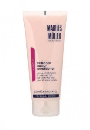 Кондиционер для волос Marlies Moller окрашенных Brilliance Colour 200 мл. Цвет: белый