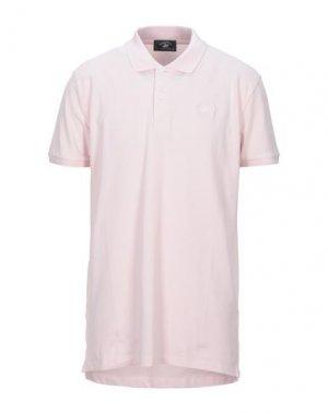 Поло BEVERLY HILLS POLO CLUB. Цвет: светло-розовый