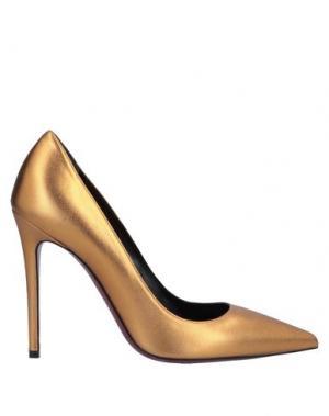 Туфли DEIMILLE. Цвет: бронзовый