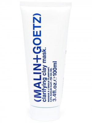 Очищающая маска для лица MALIN+GOETZ. Цвет: белый