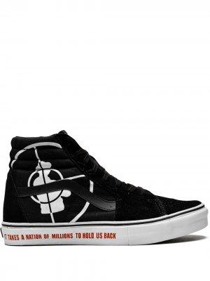 Кеды Sk8-Hi SL из коллаборации с Supreme Vans. Цвет: черный