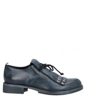 Обувь на шнурках JUICE. Цвет: темно-синий