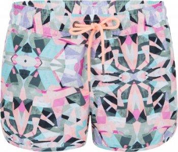 Шорты пляжные женские ONeill Pw Printed, размер 46-48 O'Neill. Цвет: розовый
