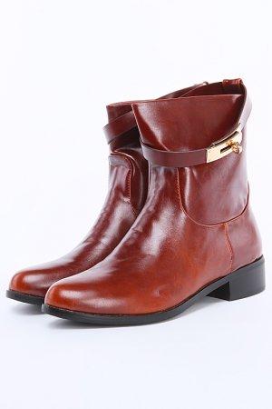 Ботинки ARZOmania. Цвет: коричневый