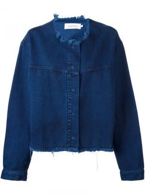 Объемная джинсовая куртка Marquesalmeida Marques'almeida. Цвет: синий