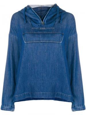 Джинсовая куртка без застежки Closed. Цвет: синий