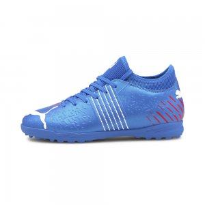 Детские бутсы Future Z 4.2 TT Youth Football Boots PUMA. Цвет: синий