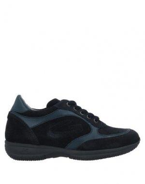 Низкие кеды и кроссовки ALBERTO GUARDIANI. Цвет: темно-синий