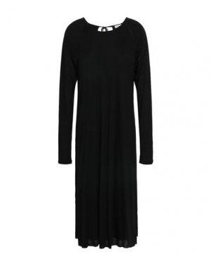Платье длиной 3/4 FILIPPA K. Цвет: черный
