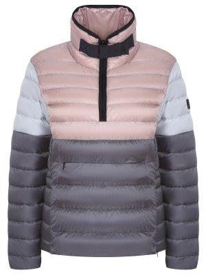 Стеганая пуховая куртка-анорак BOGNER