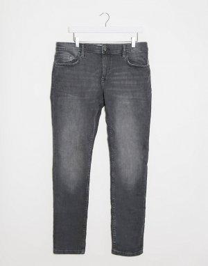 Серые джинсы скинни -Серый Esprit