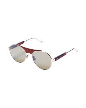 Солнечные очки TOD'S. Цвет: коричневый