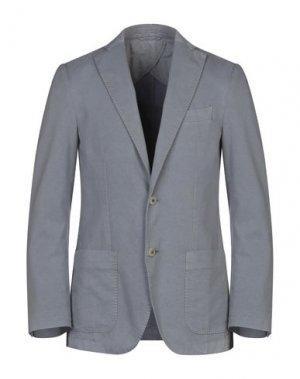 Пиджак SANREMO. Цвет: серый