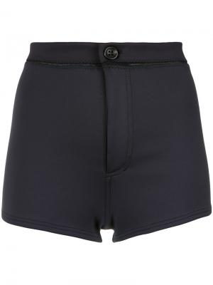 High waisted shorts Amir Slama. Цвет: черный