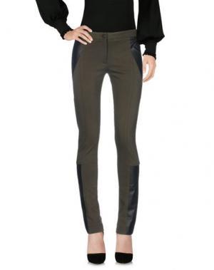 Повседневные брюки YIGAL AZROUËL. Цвет: зеленый-милитари