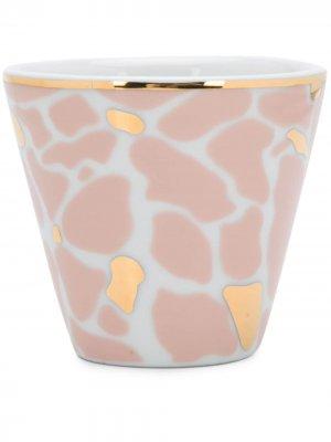 Чашка Pietre Bitossi Home. Цвет: белый