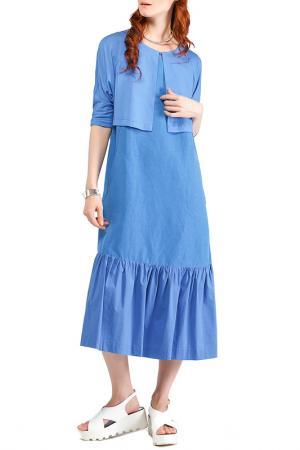 Болеро Helmidge. Цвет: голубой