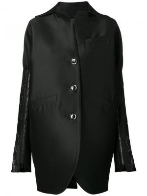 Куртка с декором на рукавах Romeo Gigli X Eggs