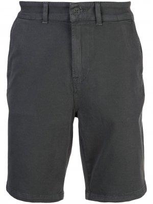 Шорты чинос длиной по колено Hudson. Цвет: серый