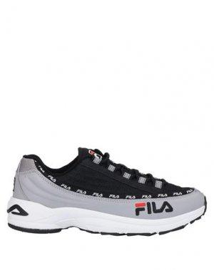 Низкие кеды и кроссовки FILA. Цвет: черный
