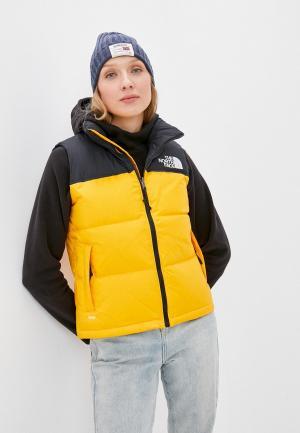 Жилет утепленный The North Face W 1996 RETRO NUPTSE VEST. Цвет: желтый