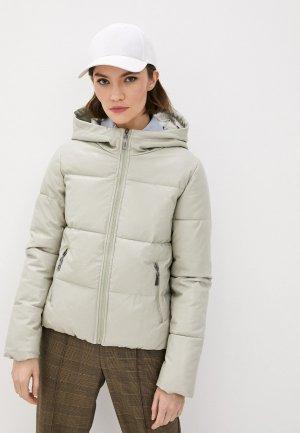 Куртка утепленная Fadjo. Цвет: бежевый