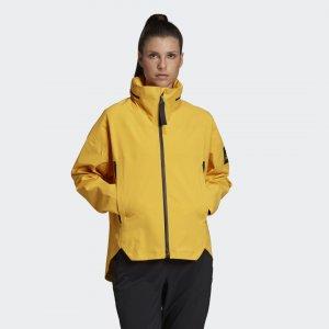 Куртка-дождевик MYSHELTER Performance adidas. Цвет: золотой